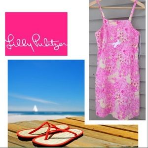 👀IM RARE✅Lilly Pulitzer Beach Blanket Bingo Dress